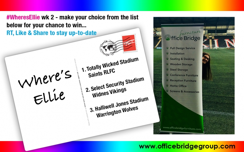 #WheresEllie Office Bridge Group Week 2
