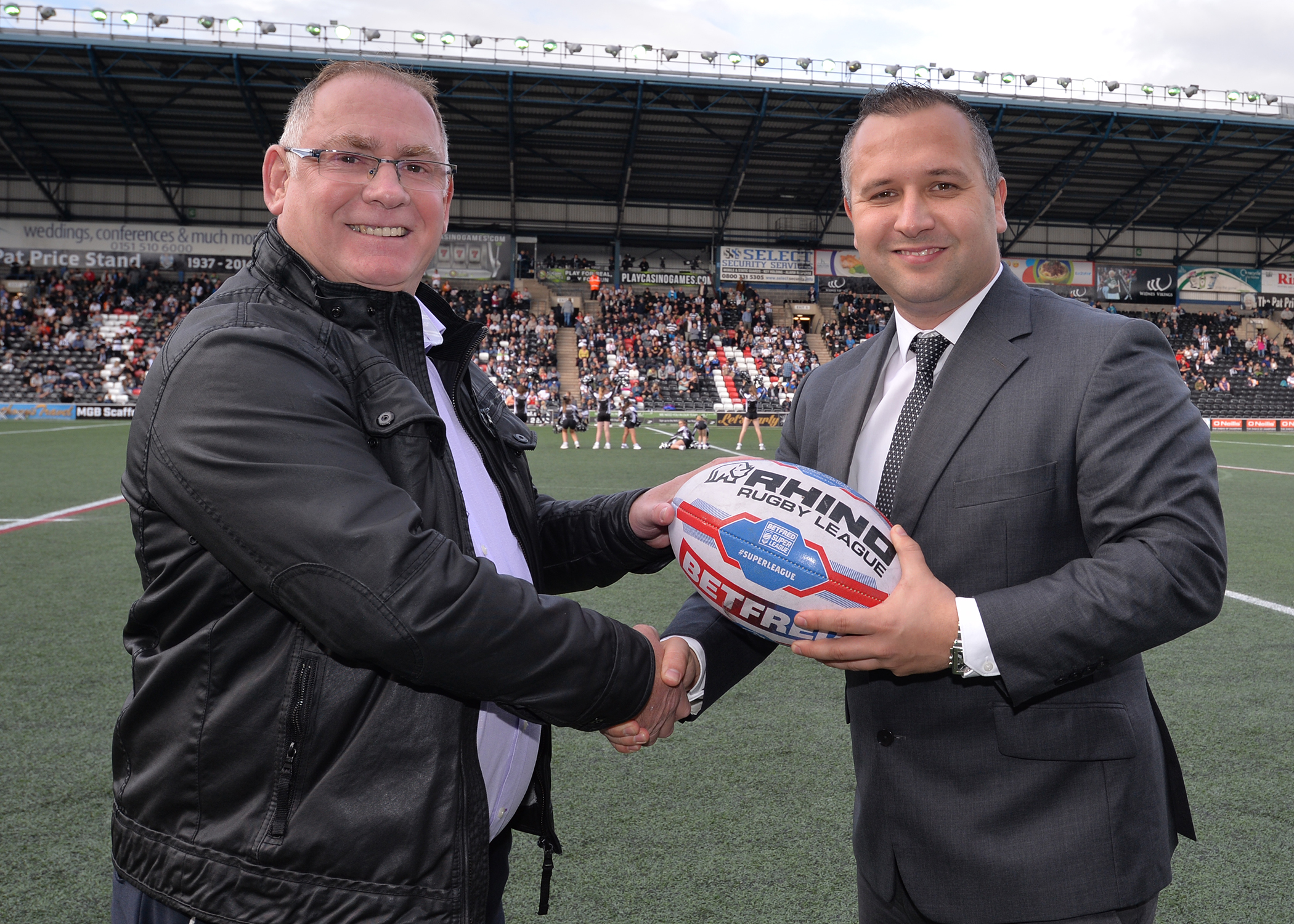 Office Bridge Group and Widnes Vikings - Stronger Together